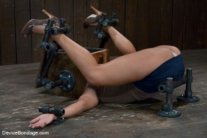 Photo number 3 from Jade Indica shot for Device Bondage on Kink.com. Featuring Miss Jade Indica in hardcore BDSM & Fetish porn.