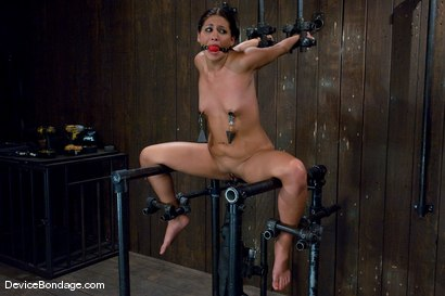 Photo number 5 from Jade Indica   How fast can a Fucking Machine fuck? shot for Device Bondage on Kink.com. Featuring Miss Jade Indica in hardcore BDSM & Fetish porn.
