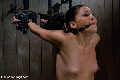 Photo number 11 from Jade Indica <br> How fast can a Fucking Machine fuck? shot for Device Bondage on Kink.com. Featuring Miss Jade Indica in hardcore BDSM & Fetish porn.