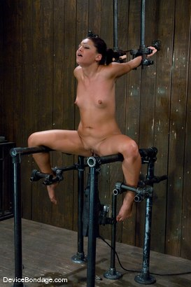 Photo number 12 from Jade Indica <br> How fast can a Fucking Machine fuck? shot for Device Bondage on Kink.com. Featuring Miss Jade Indica in hardcore BDSM & Fetish porn.