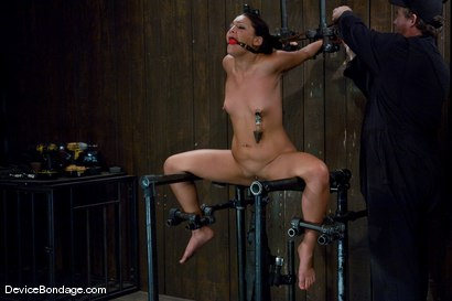 Photo number 13 from Jade Indica <br> How fast can a Fucking Machine fuck? shot for Device Bondage on Kink.com. Featuring Miss Jade Indica in hardcore BDSM & Fetish porn.