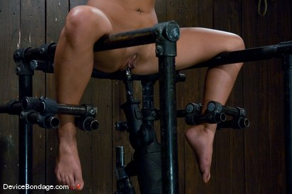 Photo number 14 from Jade Indica <br> How fast can a Fucking Machine fuck? shot for Device Bondage on Kink.com. Featuring Miss Jade Indica in hardcore BDSM & Fetish porn.