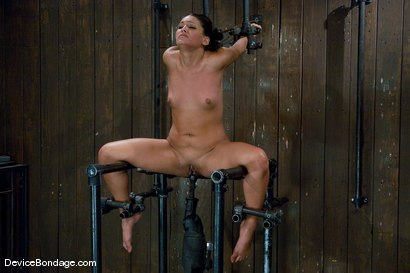 Photo number 10 from Jade Indica <br> How fast can a Fucking Machine fuck? shot for Device Bondage on Kink.com. Featuring Miss Jade Indica in hardcore BDSM & Fetish porn.