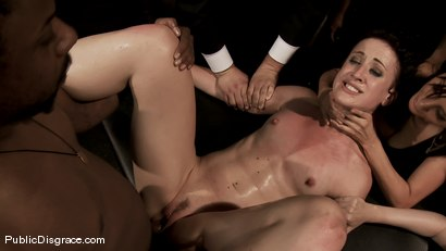 Photo number 13 from Dylan and John Strong shot for Public Disgrace on Kink.com. Featuring John Strong and Dylan Ryan in hardcore BDSM & Fetish porn.