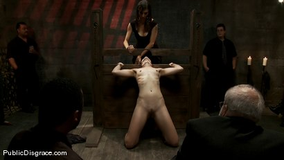 Photo number 6 from Dylan and John Strong shot for Public Disgrace on Kink.com. Featuring John Strong and Dylan Ryan in hardcore BDSM & Fetish porn.