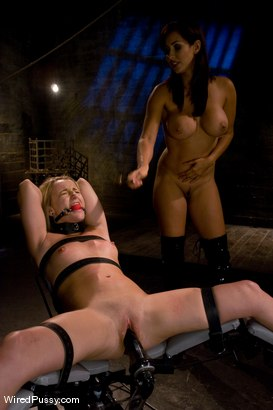 Photo number 10 from Isis Love dominates Jesse Cox shot for Wired Pussy on Kink.com. Featuring Jessie Cox and Isis Love in hardcore BDSM & Fetish porn.