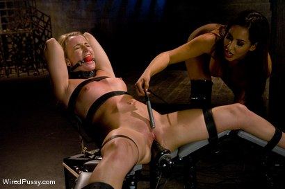 Photo number 9 from Isis Love dominates Jesse Cox shot for Wired Pussy on Kink.com. Featuring Jessie Cox and Isis Love in hardcore BDSM & Fetish porn.
