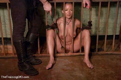Photo number 7 from The Training of Dia Zerva, Day Four shot for The Training Of O on Kink.com. Featuring Dia Zerva and Maestro in hardcore BDSM & Fetish porn.