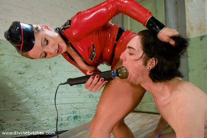Photo number 9 from The Training of a Houseboy: Episode 1 shot for Divine Bitches on Kink.com. Featuring Dia Zerva, Kade and Maitresse Madeline Marlowe in hardcore BDSM & Fetish porn.
