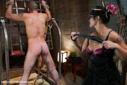 Photo number 5 from The Adjustment of Wolf Hudson: Episode 1 shot for Divine Bitches on Kink.com. Featuring DragonLily and Wolf Hudson in hardcore BDSM & Fetish porn.