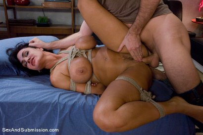 Photo number 9 from MILF Submission: episode 2  Lisa Ann shot for sexandsubmission on Kink.com. Featuring James Deen and Lisa Ann in hardcore BDSM & Fetish porn.
