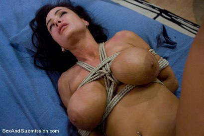 Photo number 10 from MILF Submission: episode 2  Lisa Ann shot for sexandsubmission on Kink.com. Featuring James Deen and Lisa Ann in hardcore BDSM & Fetish porn.