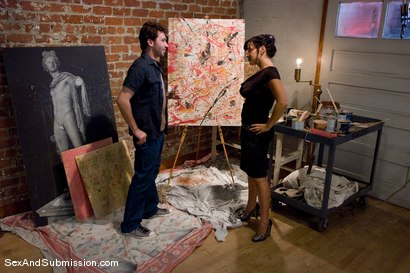 Photo number 2 from MILF Submission: episode 2  Lisa Ann shot for Sex And Submission on Kink.com. Featuring James Deen and Lisa Ann in hardcore BDSM & Fetish porn.