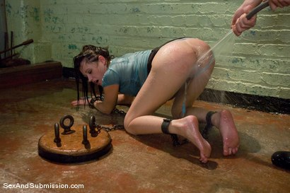 Photo number 4 from Little Piece of Meat shot for Sex And Submission on Kink.com. Featuring James Deen and Sindee Jennings in hardcore BDSM & Fetish porn.