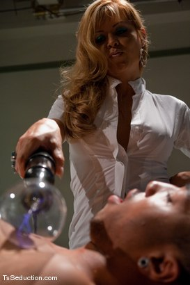 Photo number 10 from Johanna B - Night Shift shot for TS Seduction on Kink.com. Featuring Johanna B and Antho in hardcore BDSM & Fetish porn.