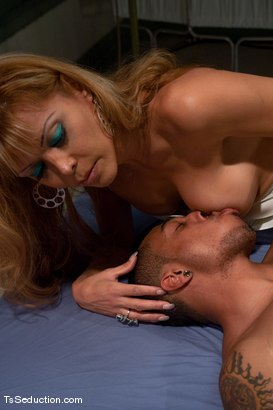 Photo number 4 from Johanna B - Night Shift shot for TS Seduction on Kink.com. Featuring Johanna B and Antho in hardcore BDSM & Fetish porn.