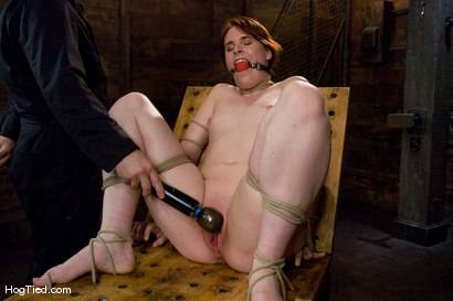 Photo number 8 from Bronte: This slut cums from pain!!!! shot for Hogtied on Kink.com. Featuring Bronte in hardcore BDSM & Fetish porn.