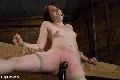 Photo number 7 from Bronte: This slut cums from pain!!!! shot for Hogtied on Kink.com. Featuring Bronte in hardcore BDSM & Fetish porn.