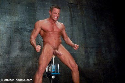 Photo number 15 from Tyler Saint Gets Annihilated. shot for Butt Machine Boys on Kink.com. Featuring Tyler Saint in hardcore BDSM & Fetish porn.