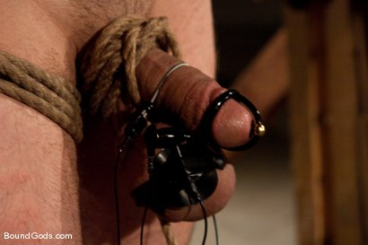 Photo number 8 from Downsizing shot for Bound Gods on Kink.com. Featuring Chad Rock, Spencer Reed, Jason Miller and Van Darkholme in hardcore BDSM & Fetish porn.