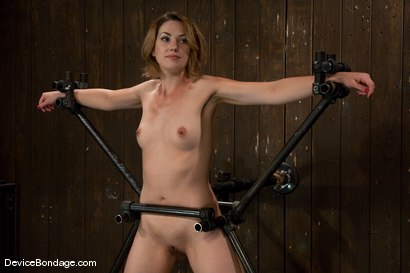 Photo number 4 from Sarah Shevon <br>Joins the ranks of Device Models shot for Device Bondage on Kink.com. Featuring Sarah Shevon in hardcore BDSM & Fetish porn.