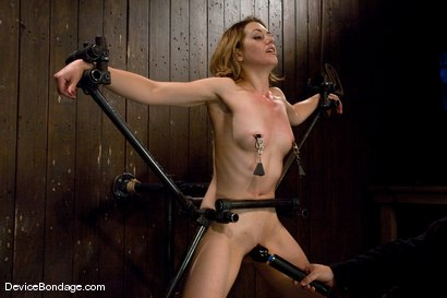 Photo number 6 from Sarah Shevon <br>Joins the ranks of Device Models shot for Device Bondage on Kink.com. Featuring Sarah Shevon in hardcore BDSM & Fetish porn.