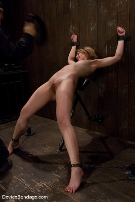 Photo number 14 from Sarah Shevon<br> Kinda looks like Jorja Fox from CSI don't you think? shot for Device Bondage on Kink.com. Featuring Sarah Shevon in hardcore BDSM & Fetish porn.