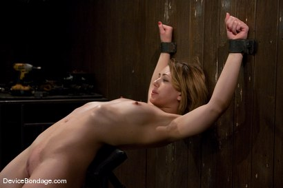 Photo number 4 from Sarah Shevon<br> Kinda looks like Jorja Fox from CSI don't you think? shot for Device Bondage on Kink.com. Featuring Sarah Shevon in hardcore BDSM & Fetish porn.