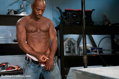 Photo number 2 from Machine Challenge: Race Cooper shot for Butt Machine Boys on Kink.com. Featuring Race Cooper in hardcore BDSM & Fetish porn.