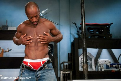 Photo number 1 from Machine Challenge: Race Cooper shot for Butt Machine Boys on Kink.com. Featuring Race Cooper in hardcore BDSM & Fetish porn.
