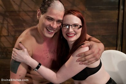 Photo number 10 from The Gift shot for Divine Bitches on Kink.com. Featuring Claire Adams and Orlando in hardcore BDSM & Fetish porn.