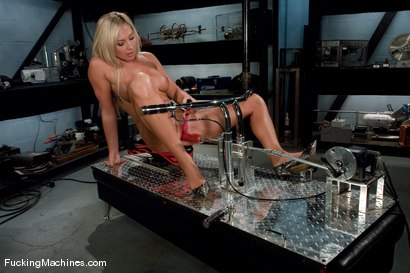 Photo number 2 from AMATEUR GIRL FRIDAYS <br> DARLING NIKKI shot for Fucking Machines on Kink.com. Featuring Skylar Price in hardcore BDSM & Fetish porn.