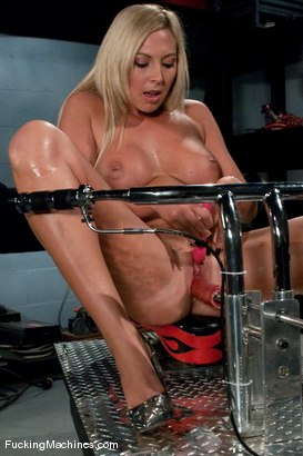 Photo number 4 from AMATEUR GIRL FRIDAYS <br> DARLING NIKKI shot for Fucking Machines on Kink.com. Featuring Skylar Price in hardcore BDSM & Fetish porn.