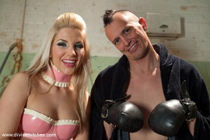 Photo number 1 from The Training of a Hellhound: Episode 1 shot for Divine Bitches on Kink.com. Featuring Derrick P. and Ashley Fires in hardcore BDSM & Fetish porn.
