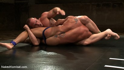 Photo number 2 from Tyler Saint vs Samuel Colt shot for Naked Kombat on Kink.com. Featuring Samuel Colt and Tyler Saint in hardcore BDSM & Fetish porn.