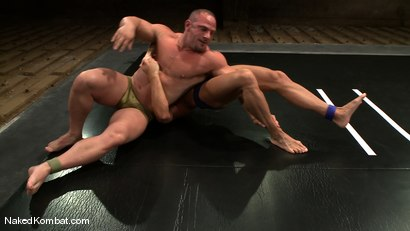 Photo number 1 from Tyler Saint vs Samuel Colt shot for Naked Kombat on Kink.com. Featuring Samuel Colt and Tyler Saint in hardcore BDSM & Fetish porn.