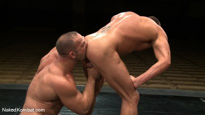 Photo number 12 from Tyler Saint vs Samuel Colt shot for Naked Kombat on Kink.com. Featuring Samuel Colt and Tyler Saint in hardcore BDSM & Fetish porn.