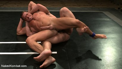 Photo number 8 from Tyler Saint vs Samuel Colt shot for Naked Kombat on Kink.com. Featuring Samuel Colt and Tyler Saint in hardcore BDSM & Fetish porn.