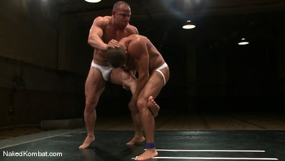 Photo number 5 from Tyler Saint vs Samuel Colt shot for Naked Kombat on Kink.com. Featuring Samuel Colt and Tyler Saint in hardcore BDSM & Fetish porn.
