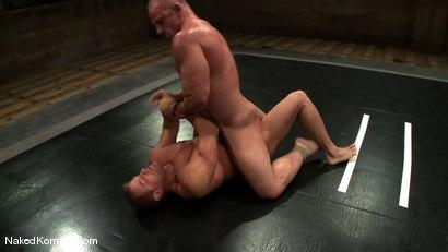 Photo number 6 from Tyler Saint vs Samuel Colt shot for nakedkombat on Kink.com. Featuring Samuel Colt and Tyler Saint in hardcore BDSM & Fetish porn.