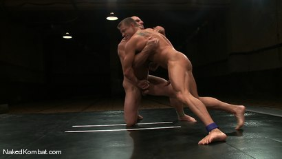 Photo number 7 from Tyler Saint vs Samuel Colt shot for Naked Kombat on Kink.com. Featuring Samuel Colt and Tyler Saint in hardcore BDSM & Fetish porn.
