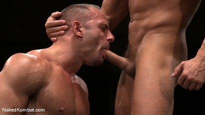 Photo number 13 from Tyler Saint vs Samuel Colt shot for Naked Kombat on Kink.com. Featuring Samuel Colt and Tyler Saint in hardcore BDSM & Fetish porn.