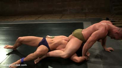 Photo number 3 from Tyler Saint vs Samuel Colt shot for Naked Kombat on Kink.com. Featuring Samuel Colt and Tyler Saint in hardcore BDSM & Fetish porn.