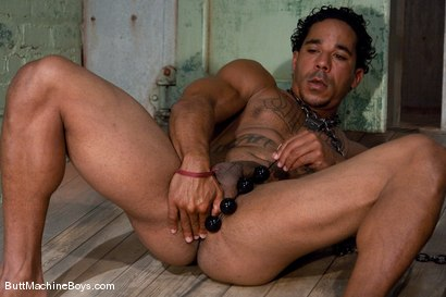 Photo number 5 from Straight Stud Lobo shot for Butt Machine Boys on Kink.com. Featuring Lobo in hardcore BDSM & Fetish porn.
