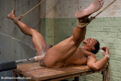 Photo number 12 from Straight Stud Lobo shot for Butt Machine Boys on Kink.com. Featuring Lobo in hardcore BDSM & Fetish porn.