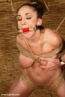 Photo number 13 from Jewell Marceau shot for Hogtied on Kink.com. Featuring Jewell Marceau in hardcore BDSM & Fetish porn.