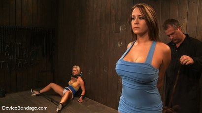 Photo number 4 from Trina Michaels, Holly Heart and Christina Carter <br>Part 1 of 4 of the August Live Feed shot for Device Bondage on Kink.com. Featuring Trina Michaels, Christina Carter and Holly Heart in hardcore BDSM & Fetish porn.