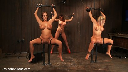 Photo number 2 from Trina Michaels, Holly Heart and Christina Carter<br> Part 4 of 4 of the August Live Feed shot for Device Bondage on Kink.com. Featuring Christina Carter, Trina Michaels and Holly Heart in hardcore BDSM & Fetish porn.