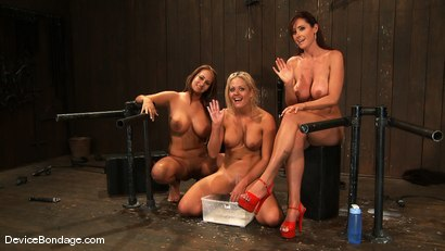 Photo number 15 from Trina Michaels, Holly Heart and Christina Carter<br> Part 4 of 4 of the August Live Feed shot for Device Bondage on Kink.com. Featuring Christina Carter, Trina Michaels and Holly Heart in hardcore BDSM & Fetish porn.