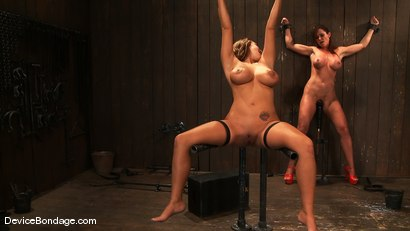 Photo number 13 from Trina Michaels, Holly Heart and Christina Carter<br> Part 4 of 4 of the August Live Feed shot for Device Bondage on Kink.com. Featuring Christina Carter, Trina Michaels and Holly Heart in hardcore BDSM & Fetish porn.